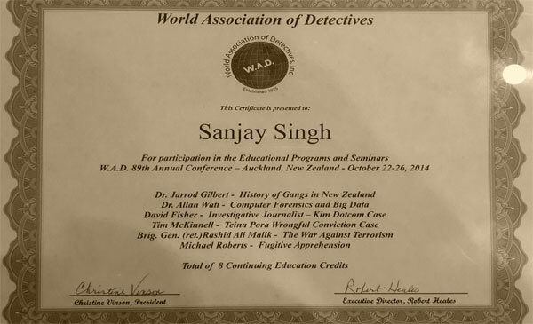 award winning detective agency